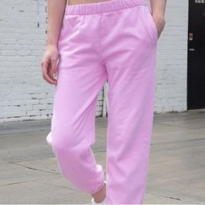 Brandy Melville Pink Bubblegum Rosa Sweats…